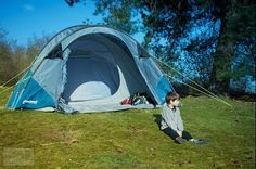 The secrets to great family camping - camping with kids