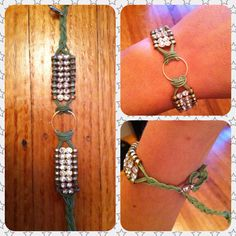 Idea for different color and style for lock and pearl bracelet