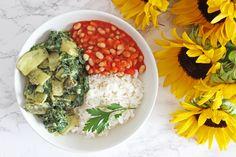 Curry de blettes