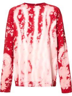 FAITH CONNEXION Oversized Red Sweatshirt. #faithconnexion #cloth #