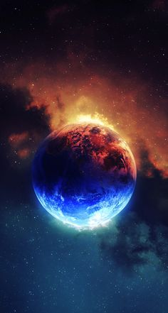 Science Discover Red and blue space planets galaxy wallpaper solar Planets Wallpaper Wallpaper Backgrounds Wallpaper Earth Allah Wallpaper Fantasy Landscape Fantasy Art Art Galaxie Spray Paint Art Galaxy Art Planets Wallpaper, Wallpaper Space, Nature Wallpaper, Cool Wallpaper, Wallpaper Backgrounds, Wallpaper Earth, Beautiful Wallpaper, Allah Wallpaper, Fire And Ice Wallpaper
