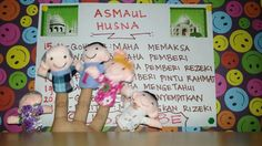ASMAUL HUSNA # EPS 3 ll Kiki Finger Education
