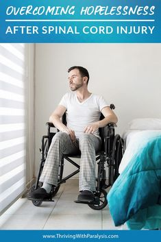 """Overcoming Hopelessness after Spinal Cord Injury """"A consistent struggle for me since my injury on November has been feelings of hopelessness. In talking with others who are paralysis survivors I think this is very common. New Creation In Christ, Doctor Of Physical Therapy, Occupational Therapy Assistant, Jeremy Camp, Our Father In Heaven, Jesus Face, Spinal Cord Injury, To My Parents, New Journey"""