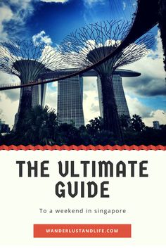 Looking for reasons to visit Singapore.... Here we provide the ultimate guide to a weekend in Singapore with our tried and tested recommendations.