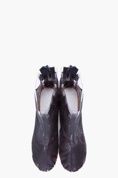 MAISON MARTIN MARGIELA Painted Transparent Boots