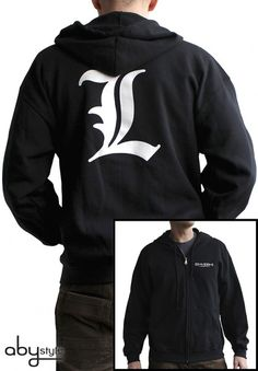 Sweat shirt Death Note L Death Note L, Anime Store, Super Hero Outfits, Otaku, Fandom Outfits, Anime Merchandise, Kinds Of Clothes, Graphic Tee Shirts, Anime Outfits