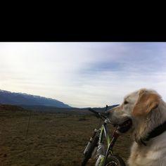 Nuca, bike and the mountain...
