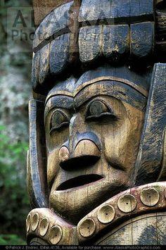 Tlingit Indian - Totem Pole
