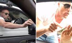 Shocking Northern Beaches road rage shows man punch speeding car