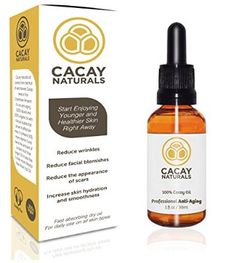 Cacay Naturals Face Oil - THE BEST Anti Aging and Anti Wrinkles For Your Skin. Contains 100% Pure Cacay Oil. Enjoy Younger and Healthier Skin Right Away!