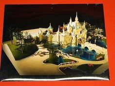 DisneyLand Walt Disney Productions Theme Park Attraction CONCEPT LAYOUT Photo #1 (10/28/2014)