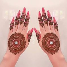 Check collection of 41 Mehndi Designs For Eid to Try This Year. Eid ul fitar 2020 includes mehndi designing, girls decorate their hands with mehndi designs. Henna Hand Designs, Mehndi Designs Finger, Indian Henna Designs, Latest Bridal Mehndi Designs, Wedding Mehndi Designs, Mehndi Designs For Fingers, Beautiful Henna Designs, Henna Tattoo Designs, Finger Mehndi Style
