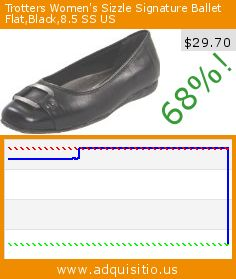 Trotters Women's Sizzle Signature Ballet Flat,Black,8.5 SS US (Apparel). Drop 68%! Current price $29.70, the previous price was $93.95. http://www.adquisitio.us/trotters/womens-sizzle-signature-337