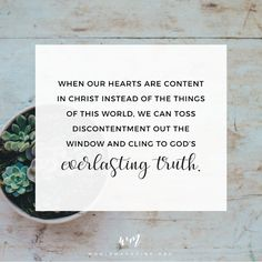 Contentment in a Discontent World — Whole Magazine