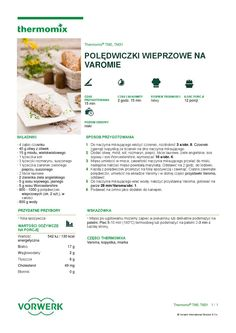 thermomix - Chutney agrestowy by Elżbieta Flakus Chutney, Make It Simple, Food And Drink, Fruit, Cooking, Healthy, Recipes, Kitchen, Diet