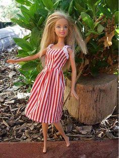 Let's make a Barbie Dress