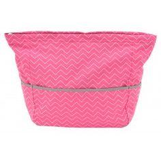 Pishposh Mommy Quick Zip Carryall Diaper Bag in Castro Pink