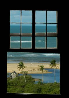 in Bahia Brazil Places Around The World, Around The Worlds, Looking Out The Window, Window View, Through The Window, Kauai, Places To Visit, Windows, Bahia Brazil