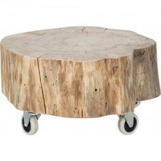 stapelgoed boomstam tafel 45 x 27 cm