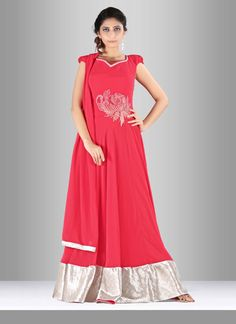 Be the sunshine of everybody's eyes dressed in such a attractive georgette floor…