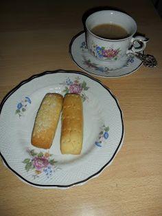 Sabines und Anjas Hobbyeck: Shortbread Shortbread, Sausage, French Toast, Meat, Breakfast, Food, Sugar, Weihnachten, Morning Coffee