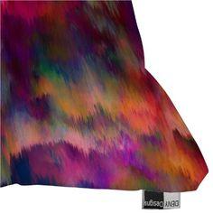 DENY Designs Amy Sia Sunset Storm Throw Pillow - Beachfront Decor