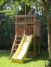Endeavor Redwood Playset, Fort, and Swingsets Designed by Jack