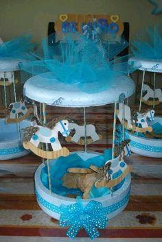 15 lindas ideas en azul para un baby shower Baby Shower Crafts, Baby Crafts, Baby Shower Games, Baby Boy Shower, Shower Party, Baby Shower Parties, Shower Gifts, Baby Shower Centerpieces, Baby Shower Decorations