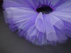Purple Tutu- Infant: Newborn tutu, tulle tutu, infant tutu, baby tutu, baby girl tutu, girl tutu, ballerina, princess tutu. $13.00, via Etsy.