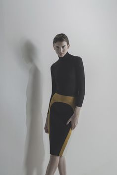 Indonesian designer, high-end ready-to-wear label, Peggy Hartanto. site by flitts Fall Winter 2015, Ready To Wear, Ballet Skirt, Normcore, Two Piece Skirt Set, Womens Fashion, Skirts, How To Wear, Dresses