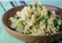 spring vegetable quinoa
