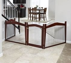 Pet Gate Crate Dog Merry Pet 2-in-1 Configurable Medium Kennel Cage Indoor Table…