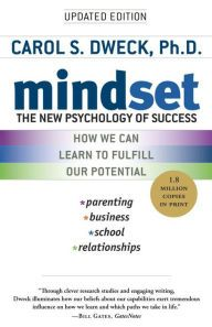 Read my review of Carol Dweck's Mindset at Barnes and Noble