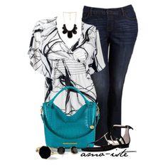 Jeans w/sandal - Plus Size by amo-iste