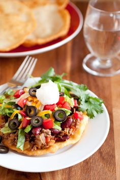 Mom's Navajo Tacos and Indian Fry Bread -  I will always love Navajo Tacos. I've eaten them ever since I can remember. My mom makes the best Navajo Tacos ever (Navajo taco topping anyway =). She wou