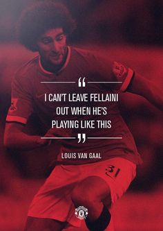 Louis van Gaal on Fellaini