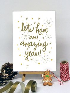 Amazing Year Holiday Greeting Cards by Oubly.com