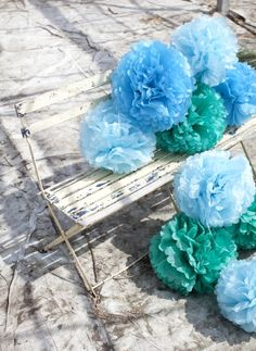 Very cool pom poms for bachelorette party?