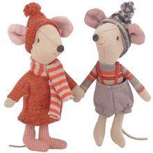 Maileg winter girl mouse