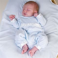 Baby Boys Jumpsuit - Beau Collection | Designer Infant Clothing - Going home from the hospital outfit