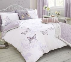 Butterfly Cotton Rich Print Bed Set from Next