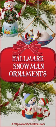 Are you looking for Hallmark Snowman Ornaments? You'll love these super cute snowman Christmas tree ornaments and you'll find plenty of ideas on this page. Tree Decorations, Christmas Decorations, Holiday Decor, Christmas Tree Decorating Tips, Snowman Christmas Ornaments, Cute Snowman, Comfy, Home Decor, Christmas Decor