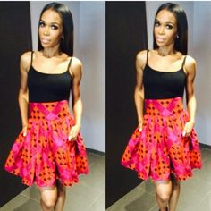 Michelle Williams wears African Fashion