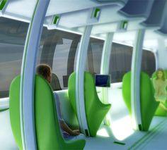 Future Train Design Concept by Chris Precht