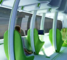 Future Train Design Concept by Chris Precht