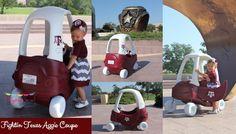 The original Aggie Cozy Coupe Makeover
