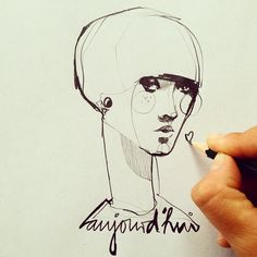 fast sketch by Ekaterina Koroleva