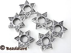 CA 20 Tibetan Silver Star Frames. Starting at $4 on Tophatter.com!