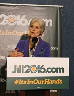 Dr. Jill Stein at the National Press Club