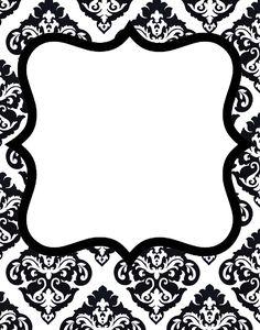 Doodle Craft...: damask